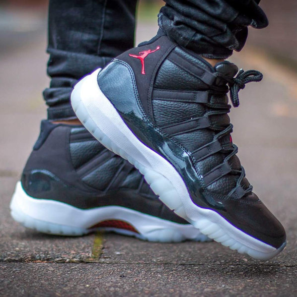 On Feet Look At The Air Jordan 11 Retro 72 10