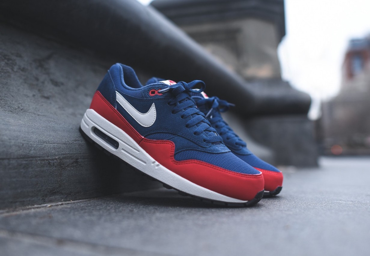 """Nike Air Max 1 Essential """"Navy/Red"""""""