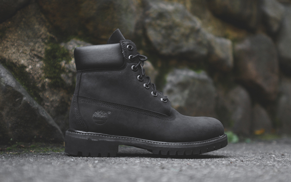 Timberland 6 Inch PRM Boot Black