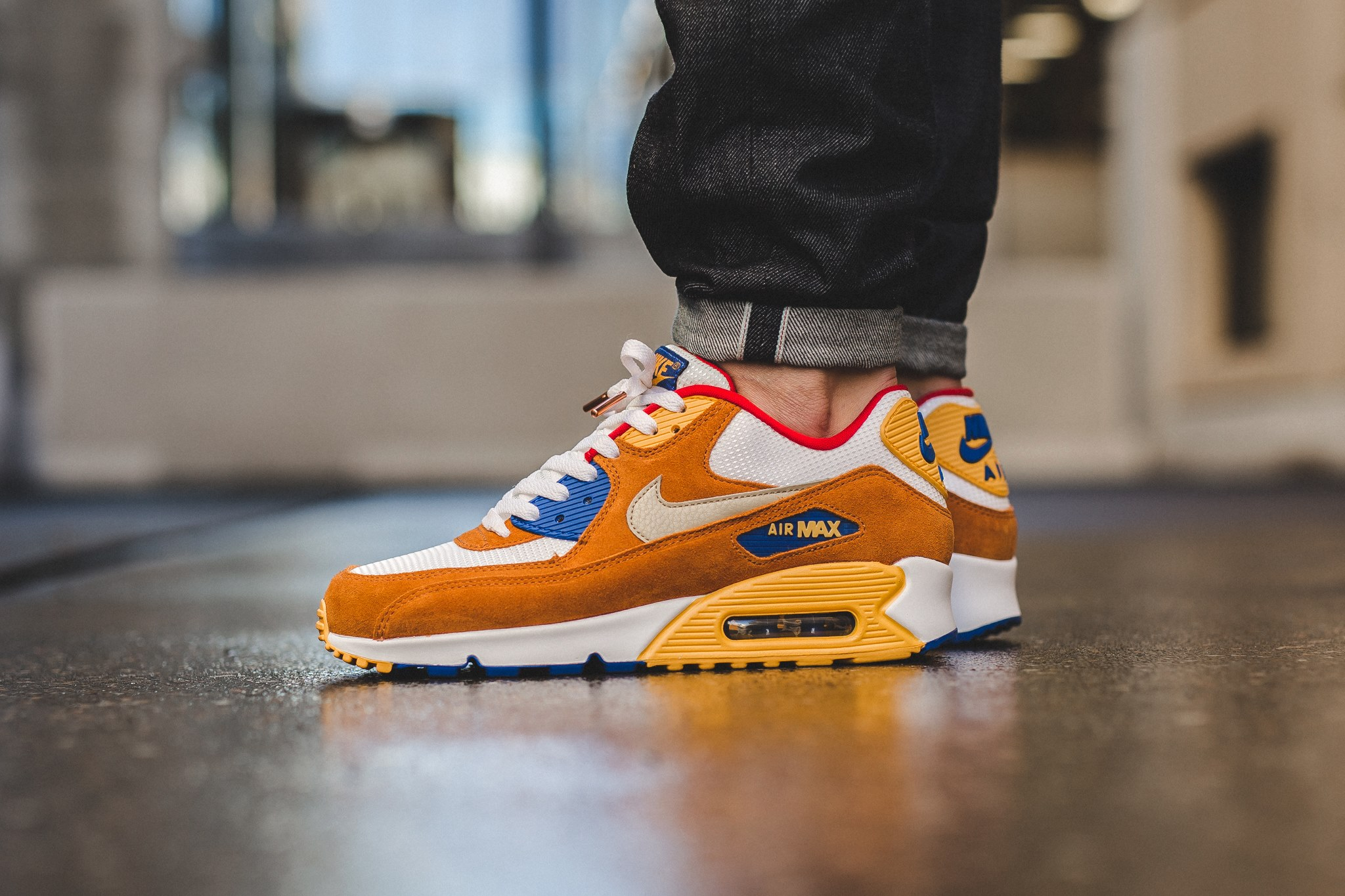 nike air max 90 curry