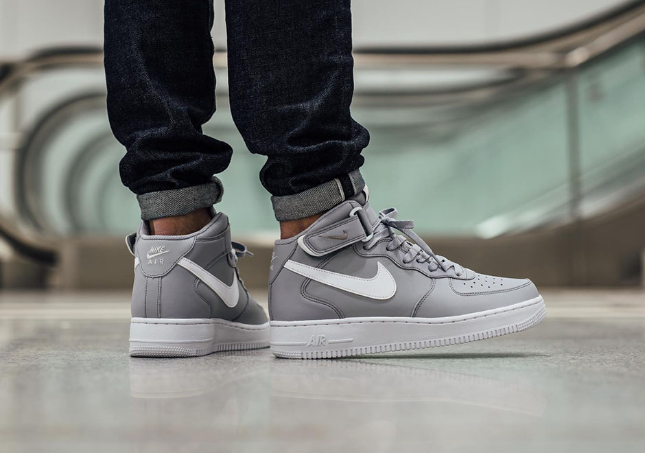 "Nike Air Force 1 Mid '07 ""Wolf Grey"""