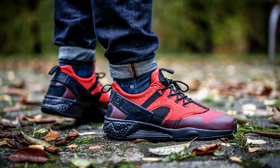 Nike Air Huarache Utility Gym Red