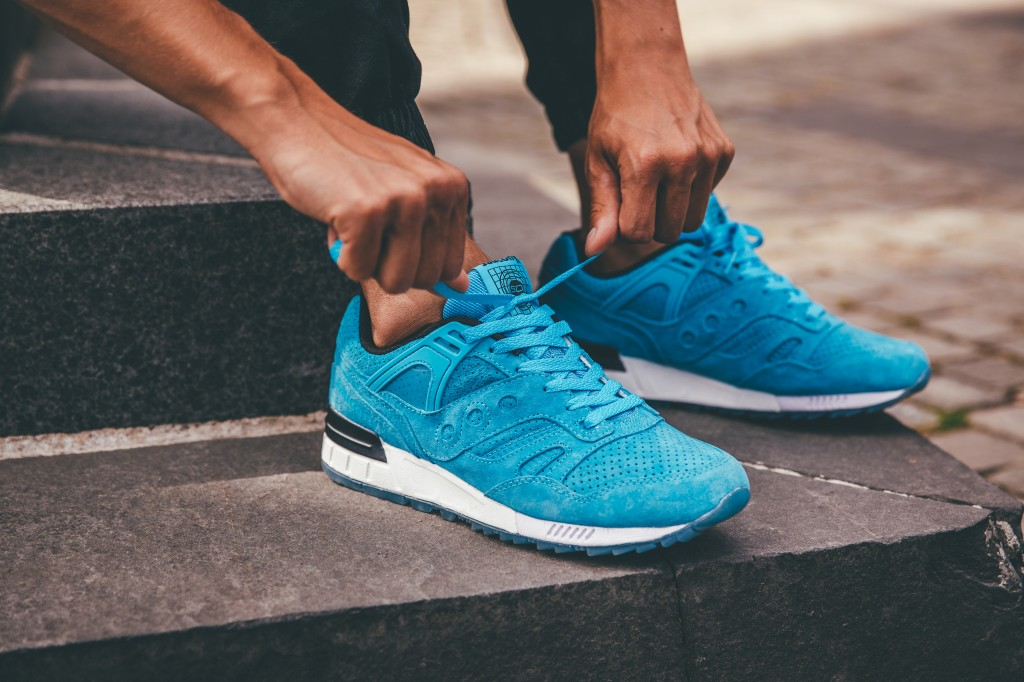 Saucony Grid SD Light Blue
