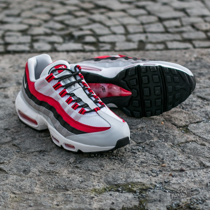 new arrive factory price uk cheap sale Nike Air Max 95 Essential University Red/Wolf Grey - Kicks Links
