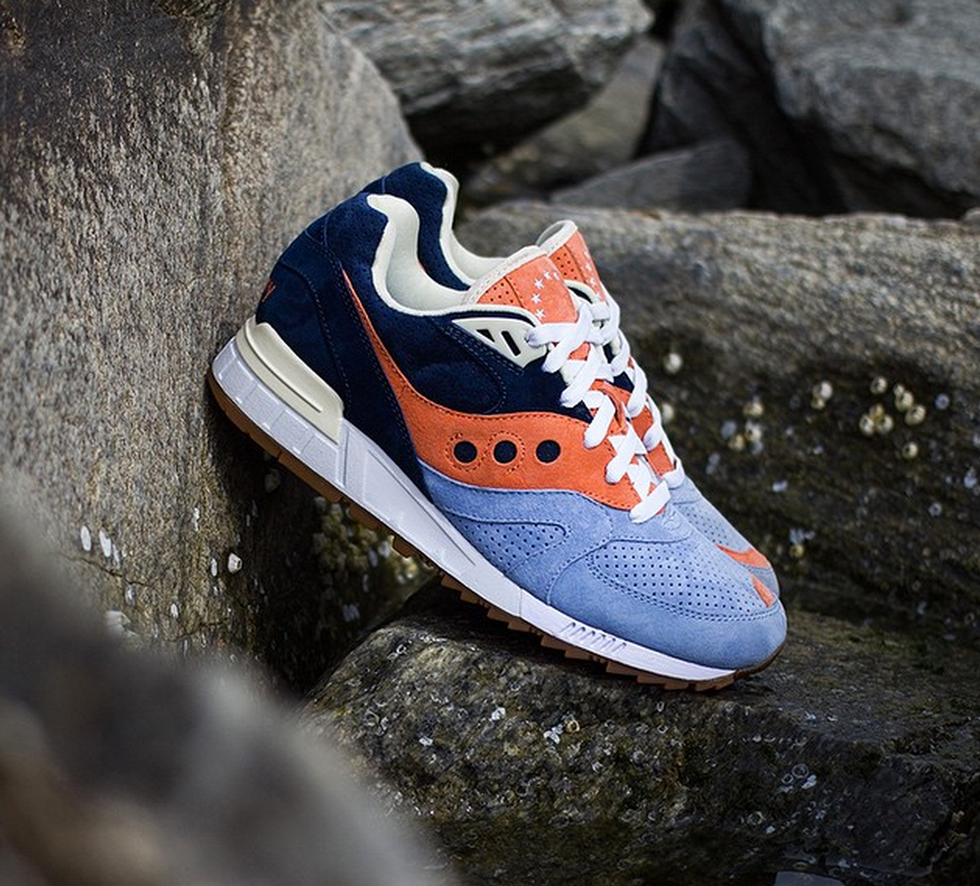 UBIQ x Saucony Shadow Master Atlantic Tide
