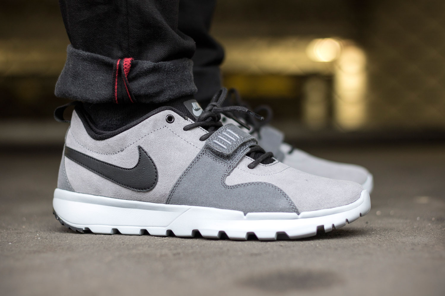 cheaper ae3a4 6bcf0 Nike SB Trainerendor Cool Grey