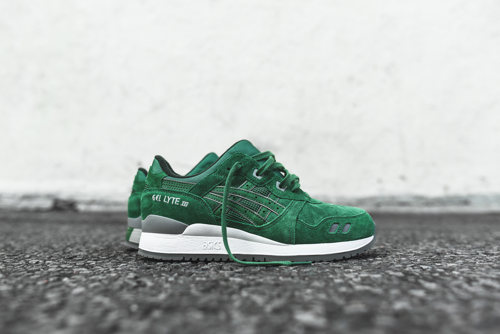 Asics Gel Lyte III Green - Kicks Links 3854d6bd5