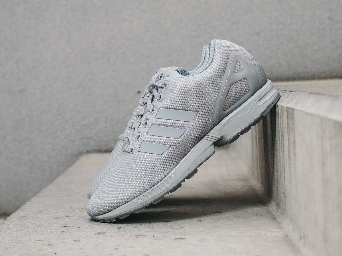Grey Kicks Adidas Links Zx Flux qSMpLUzGV