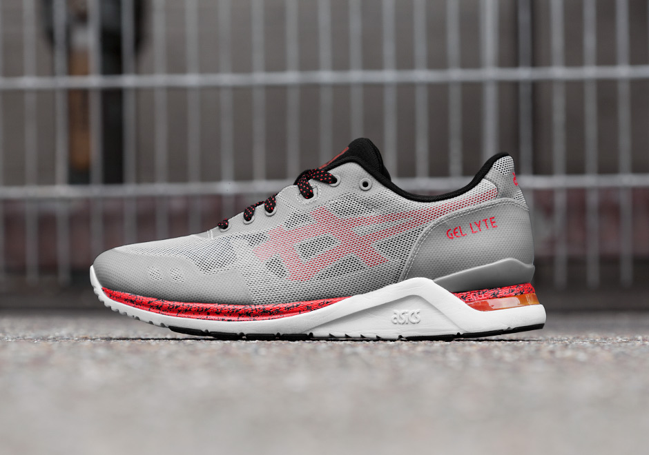 Asics Gel Lyte EVO NT Grey/Red