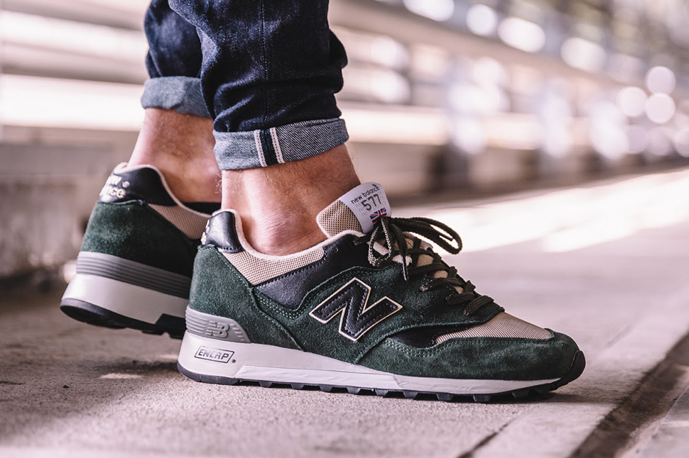 New Balance 577 Green/Black
