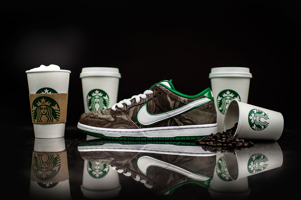 Nike Dunk Low PRM SB Starbucks
