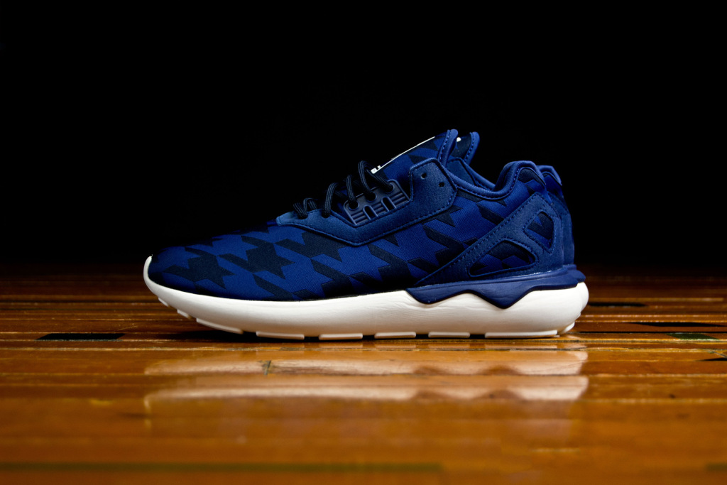 Fourness x Adidas Tubular Runner Bold Blue