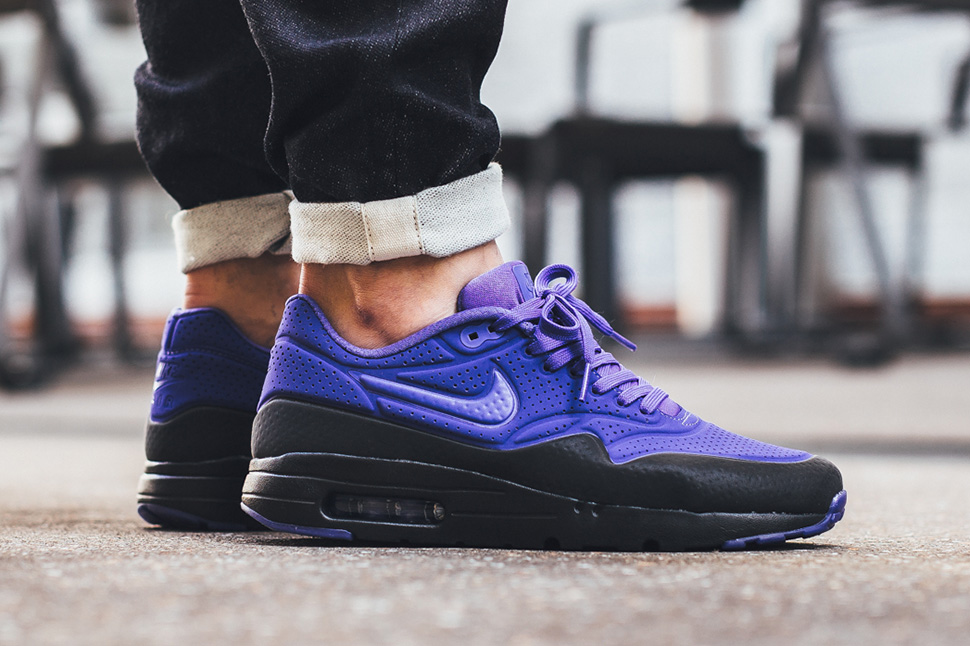 hot sale online b3a7a 1e807 Nike Air Max 1 Ultra Moire Persian Violet