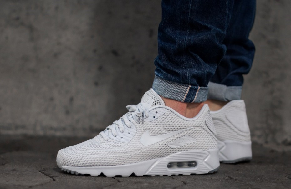 Nike Air Max 90 Ultra Breathe Pure Platinum Kicks Links