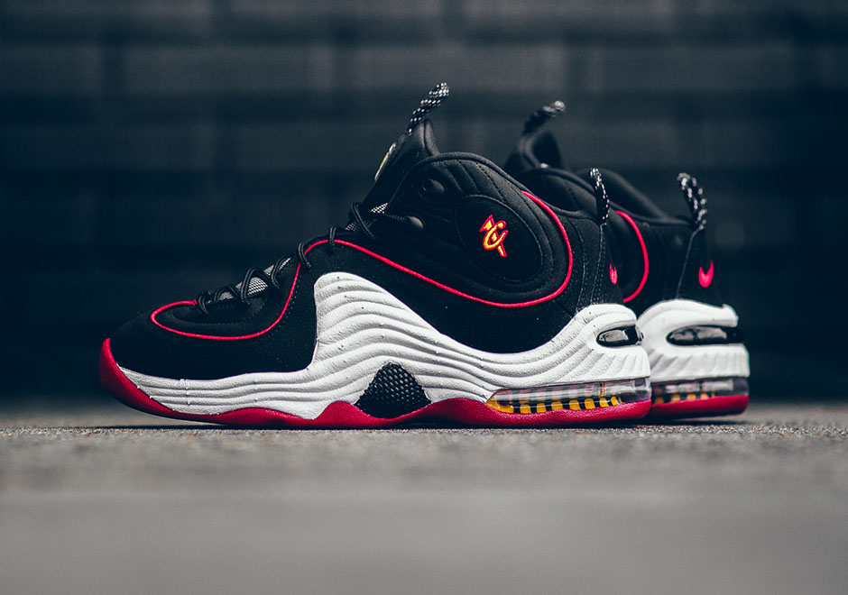 Nike Air Penny 2 Miami Heat