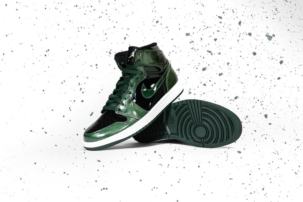 Air Jordan 1 High Green Grove