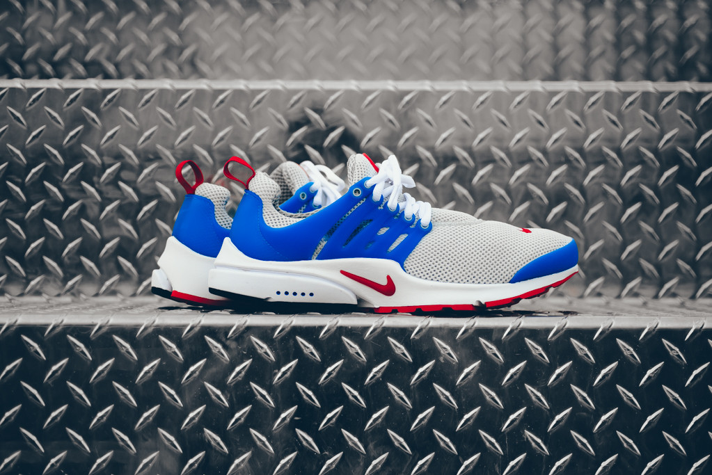 Nike Air Presto Dust Grey/Hyper Cobalt
