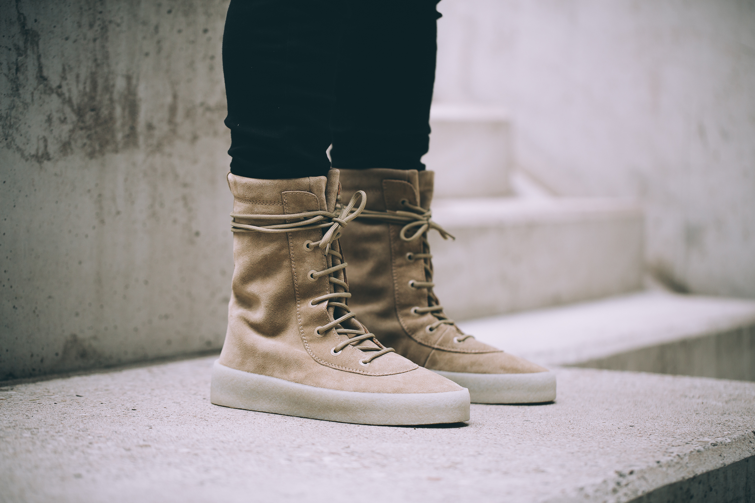 Yeezy Season 2 Boot Taupe