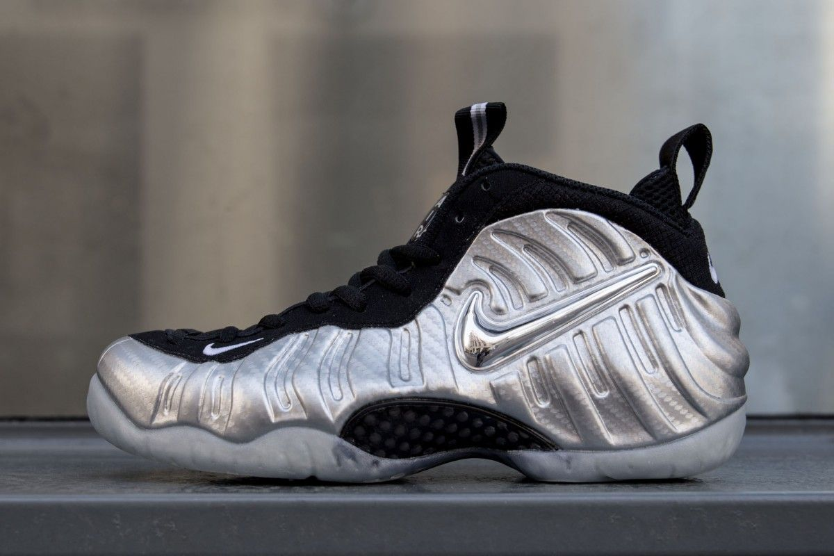 7783fee76e0f3 Nike Air Foamposite Pro Silver Surfer Restock now available via Villa!  Don t miss out! Link available below.