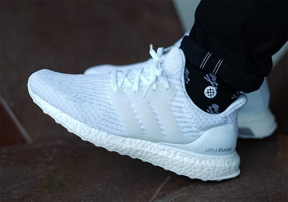 Adidas Ultra Boost 3.0 Triple White Restock via Finish Line - Kicks ... 591166814