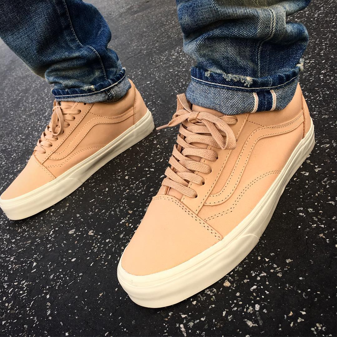 Vans Old Skool DX Veggie Tan Kicks Links