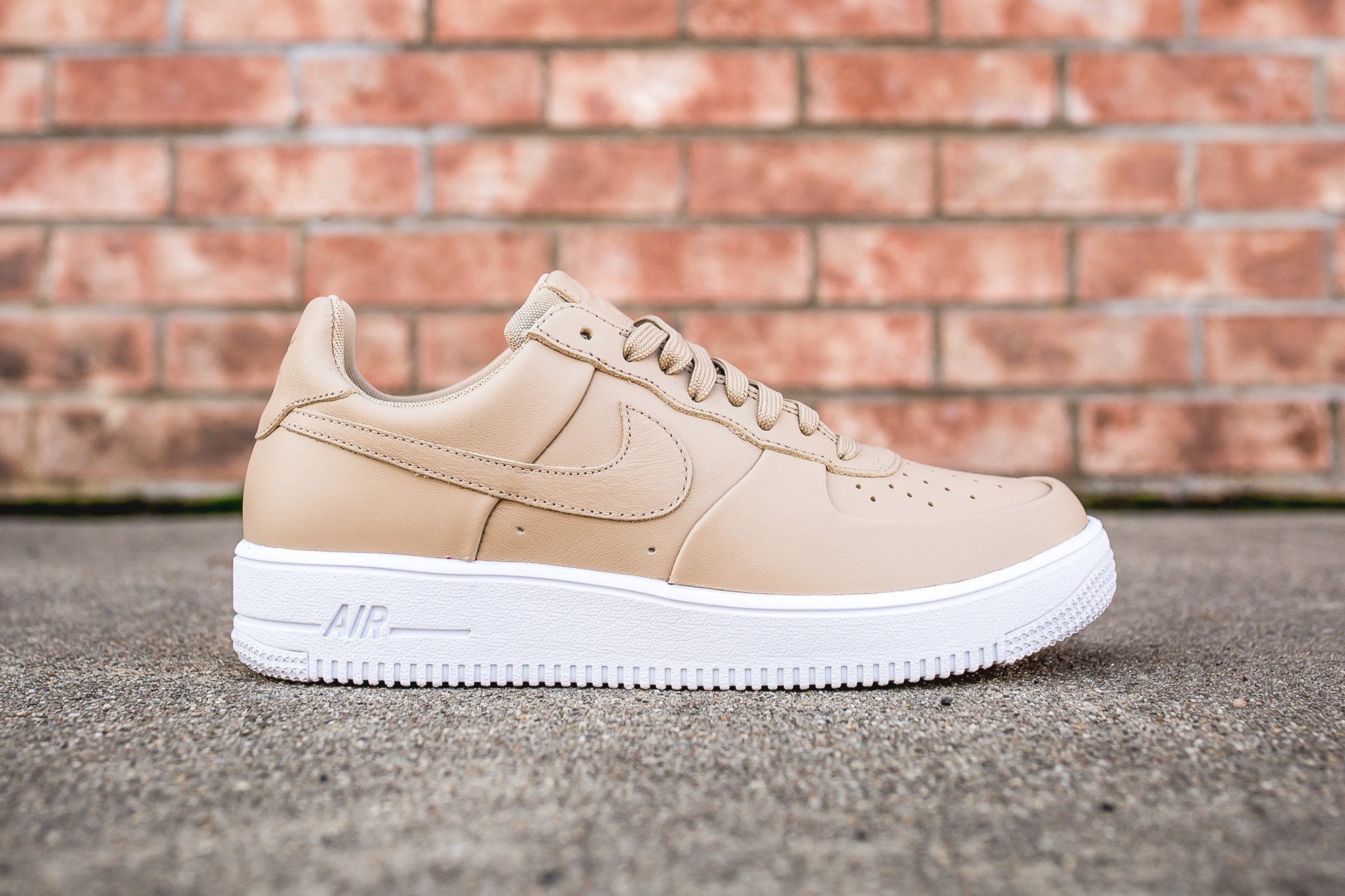 brand new 3b46a 373a1 Nike Air Force 1 Ultraforce Leather Linen