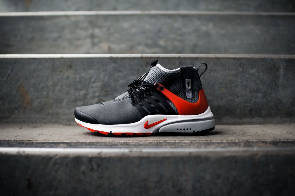 buying new 100% top quality discount sale Nike Air Presto Utility Mid Dark Grey/Orange - Kicks Links