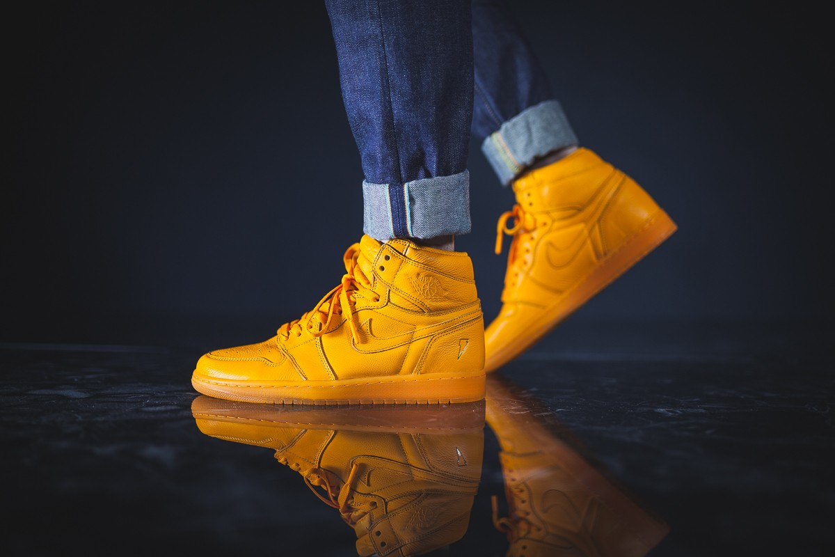 Air Jordan 1 High Gatorade Orange Peel