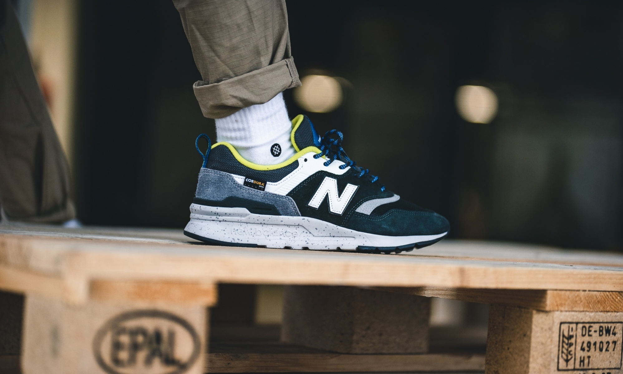 New Balance 997 Cordura Rifle Green
