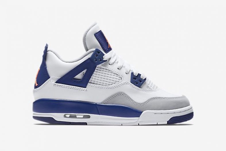 new concept f6dbf c2ac2 Air Jordan 4 GS Deep Royal - Kicks Links