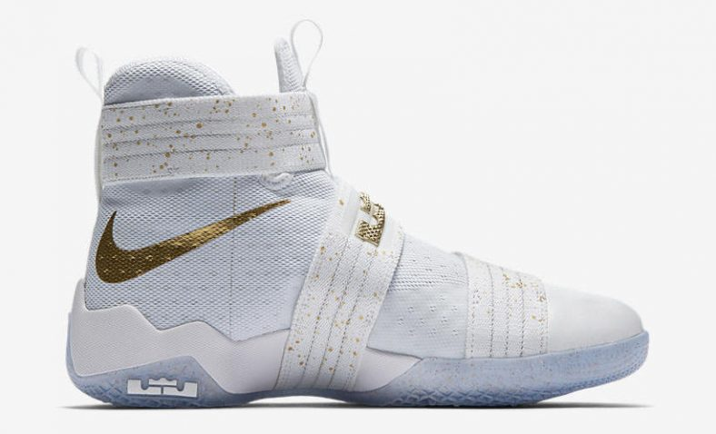 7a92e9165905 LeBron Zoom Soldier 10 Gold Medal Release Links - Kicks Links