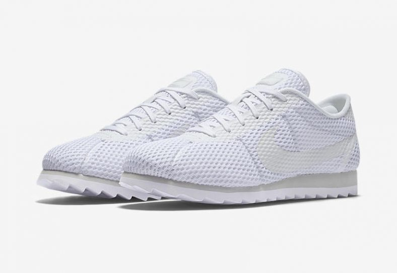 best authentic f1bb6 58750 Nike WMNS Cortez Ultra BR Triple White Release Links