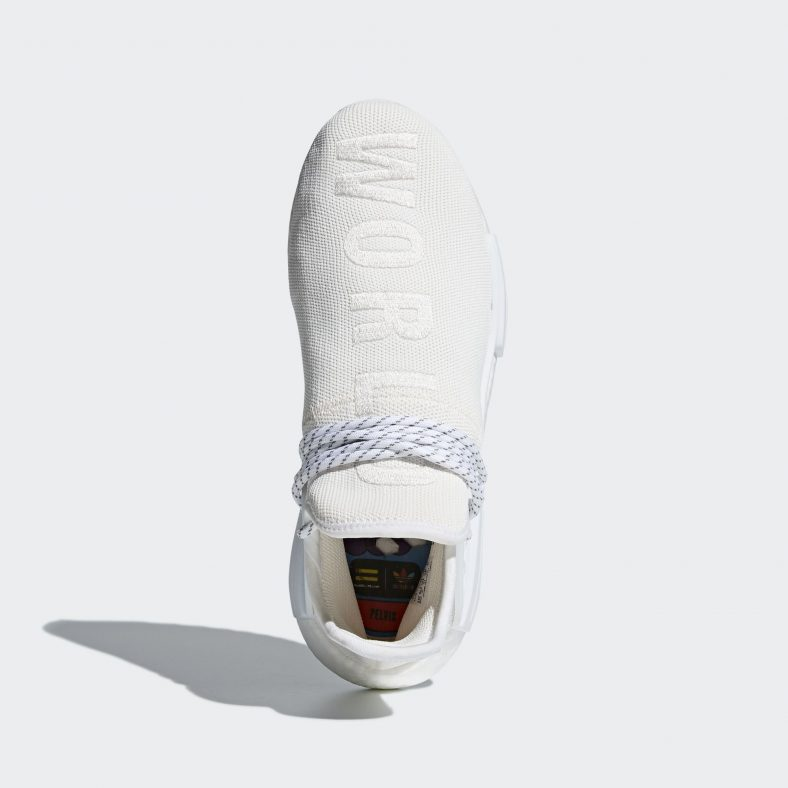 check out 30dcd d478e Pharrell Williams x Adidas Hu Holi NMD Blank Canvas Release ...