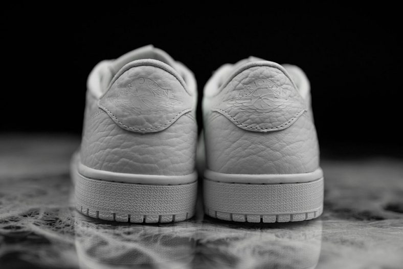 1a8d4fdfe9ab The surprisingly well executed Swooshless Air Jordan 1 Low gets a popular  makeover. This time